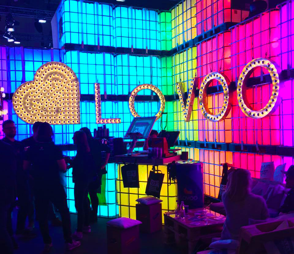 dmexco Lovoo Messestand